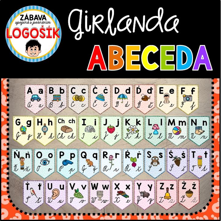 Duhova abeceda pro první třídu