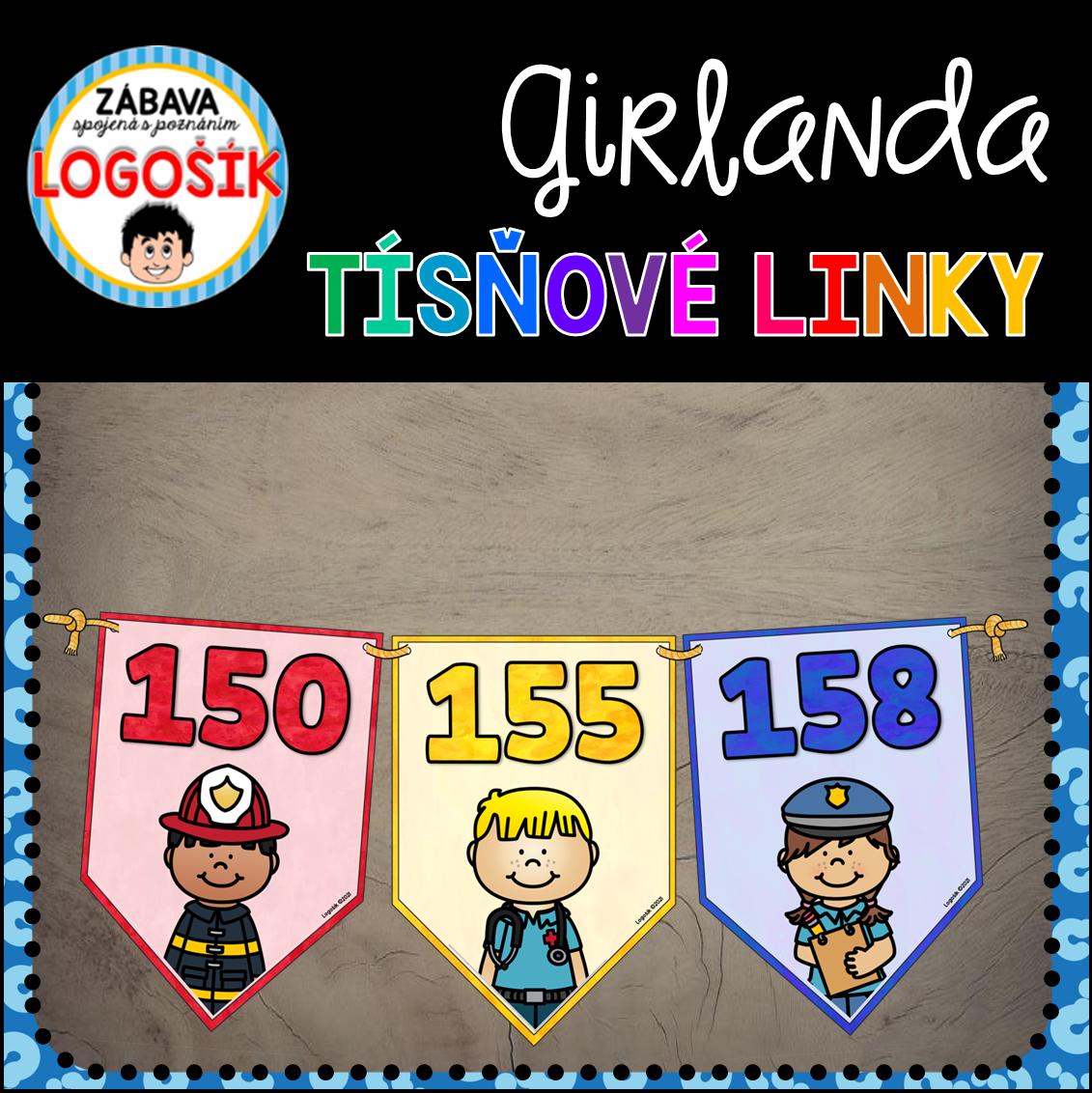 Girlanda - tísňové linky