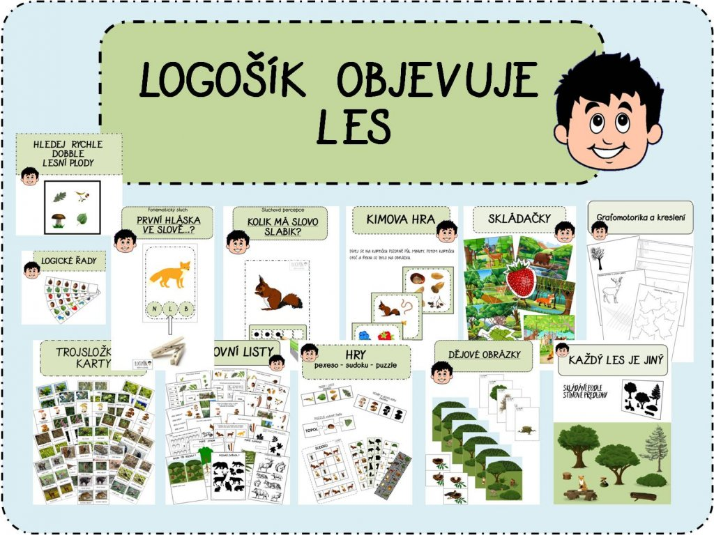Logosik Objevuje Les Logosik