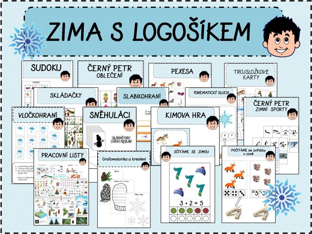 Zima S Logosikem Logosik
