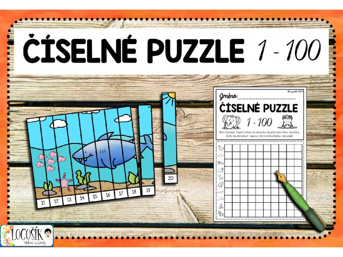 číselné puzzle