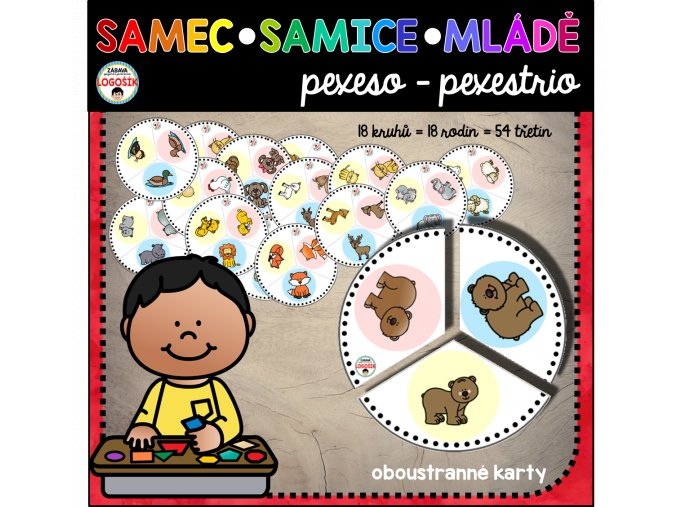SAMEC SAMICE MLÁDĚ