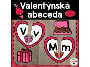 valentýnská abeceda