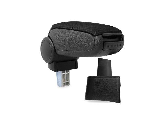 Loketní opěrka Seat CORDOBA 2 (6L) (Materiál Textilní potah opěrky, Barva Černá barva)