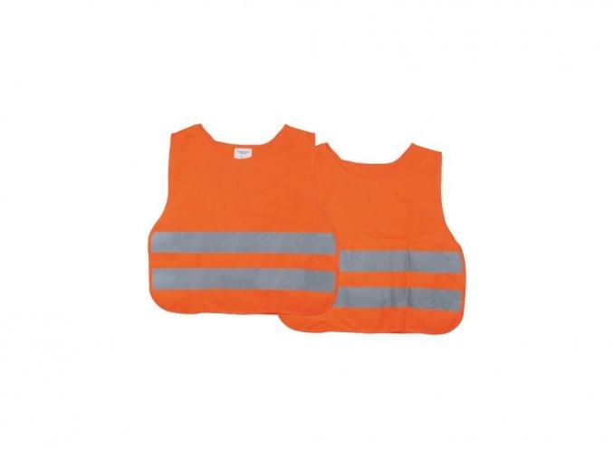 Reflexní vesta dětská oranžová