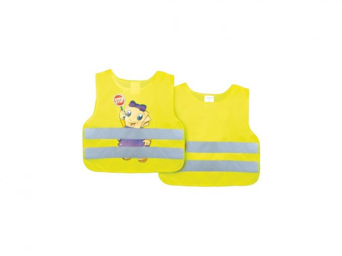 Reflexní vesta dětská žlutá