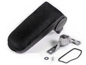 Loketní opěrka AUDI A4 model B5 (Materiál Textilní potah opěrky, Barva Černá barva)