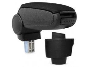 Loketní opěrka Seat IBIZA 4 (6J) (Materiál Textilní potah opěrky, Barva Černá barva)