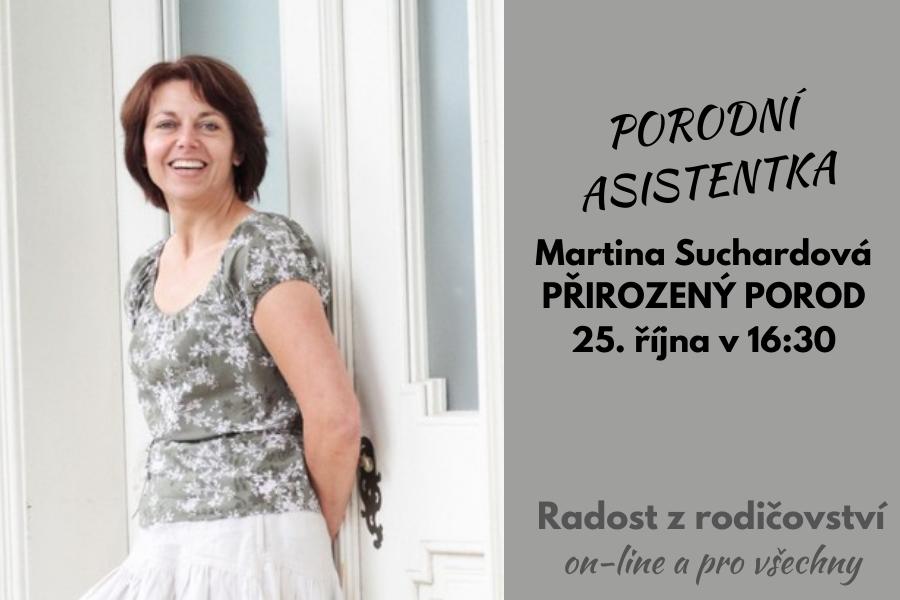 Přirozený porod: záznam povídání s porodní asistentkou Martinou Suchardovou