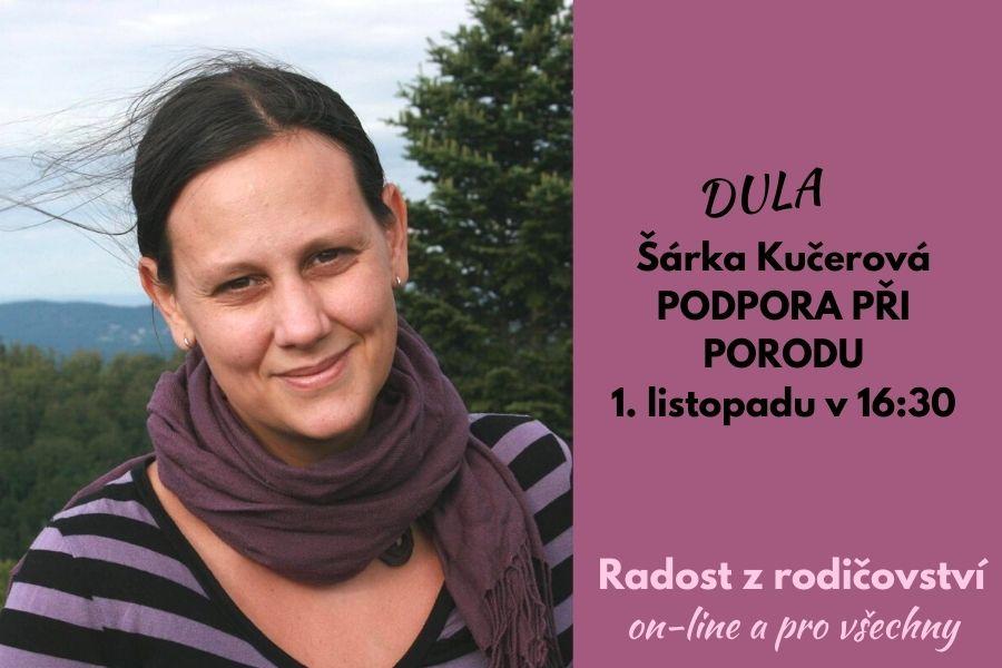 Podpora při porodu: záznam povídání s dulou Šárkou Kučerovou