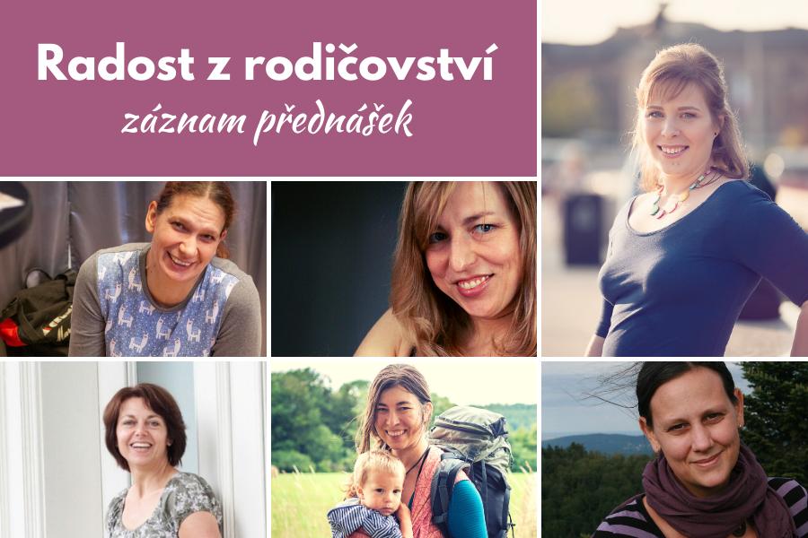 Záznam všech přednášek festivalu Radost z rodičovství 2020