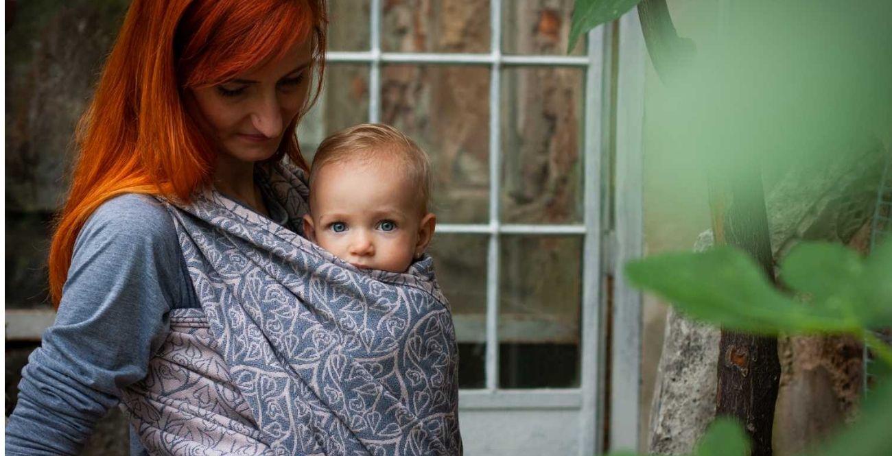 Bird Garden Bretagne - šátek na nošení dětí Loktu She