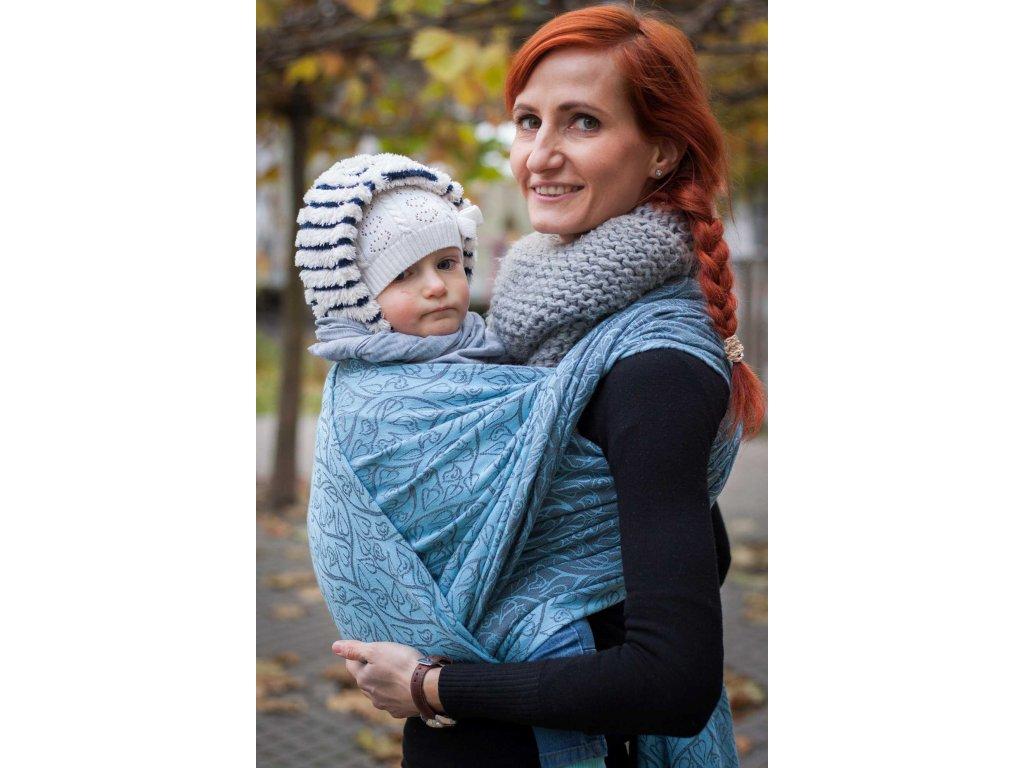Bird Garden Arctis - šátek na nošení dětí