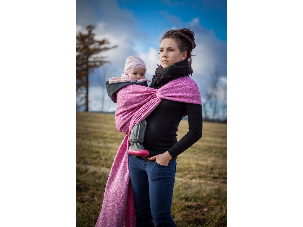 Bird Garden Azalea - šátek na nošení dětí