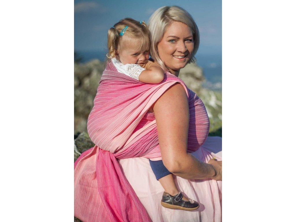 Love Motion Isolda - šátek na nošení dětí