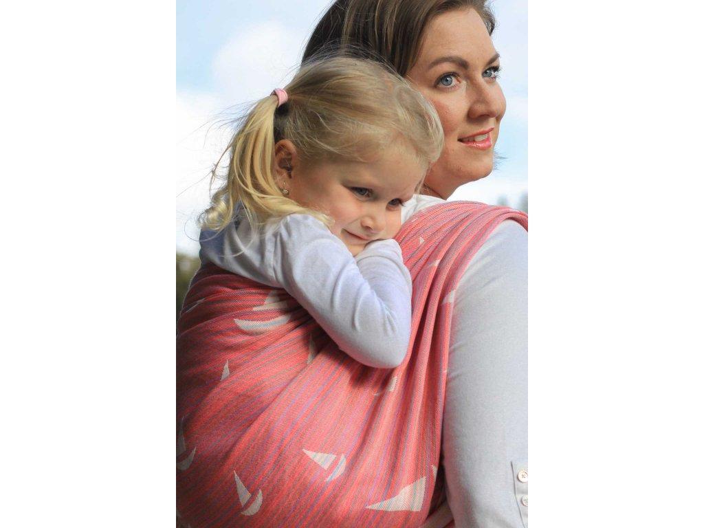 Navis kyría - šátek na nošení dětí