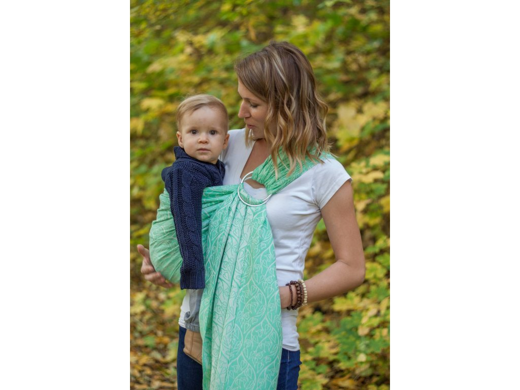 Ring Sling Bird Garden Mint