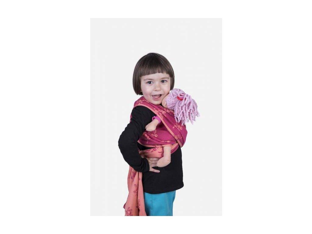 Šátek na panenky Cran Berry