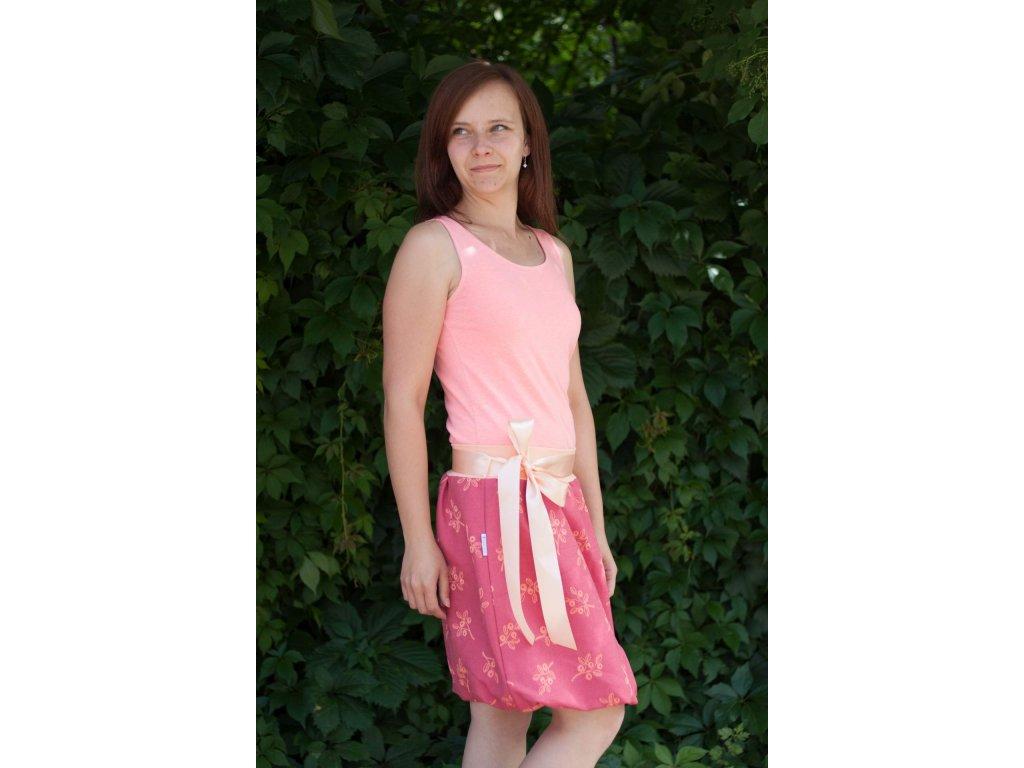 Dámská balónová sukně Cran Berry