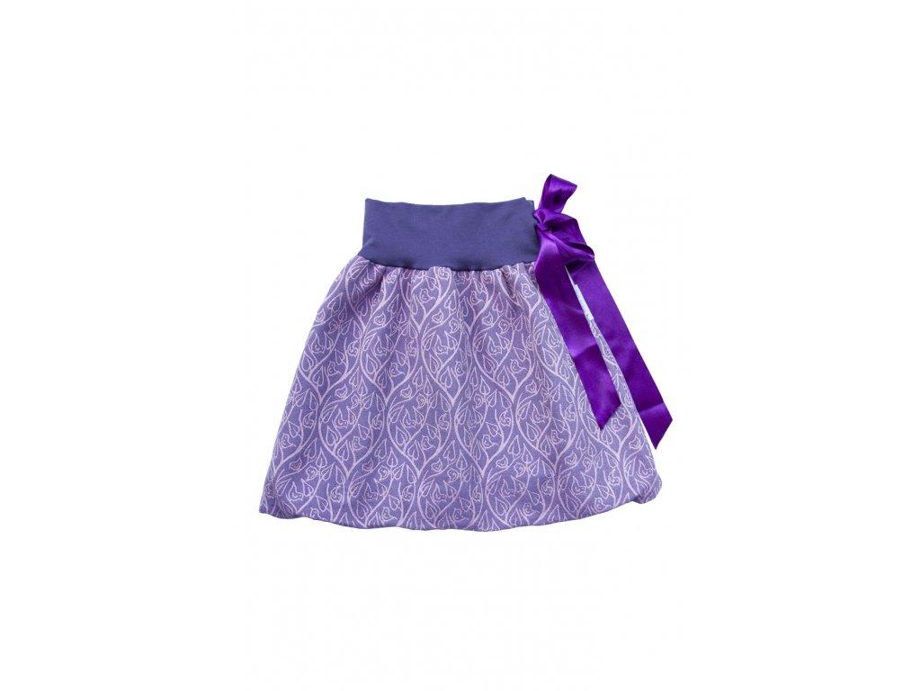 Dívčí balónová sukně