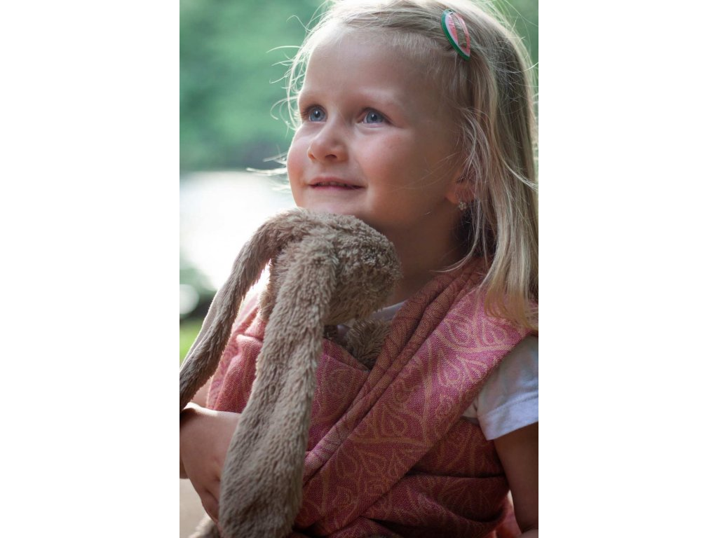 Šátek na panenky Bird Garden Amber