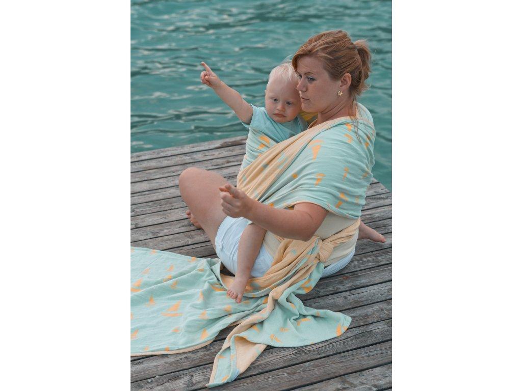 Navis Lima - šátek na nošení dětí