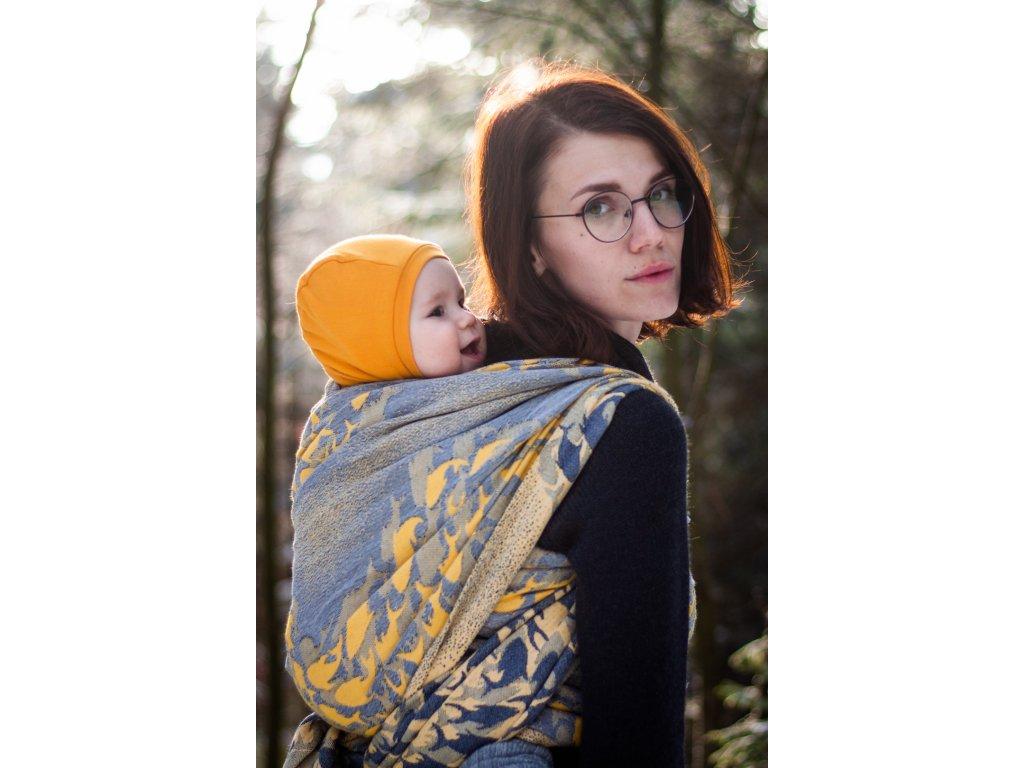 Flow Naiades - šátek na nošení dětí