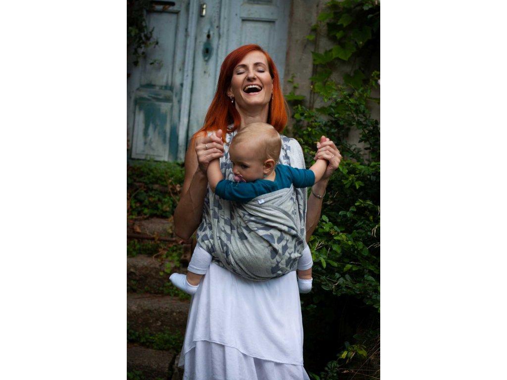 Flow Poseidon - šátek na nošení dětí