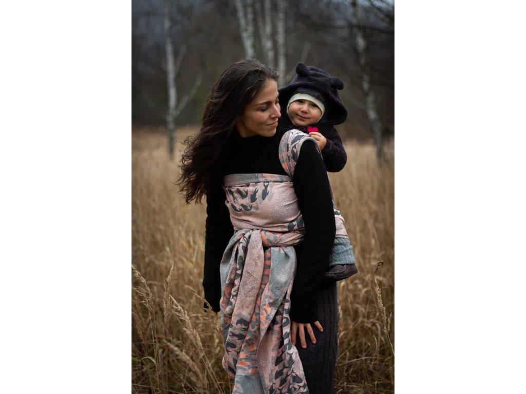 Flow Sirona - II. jakost - šátek na nošení dětí