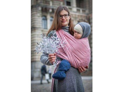 Bird Garden Šípková Růženka - II. jakost - šátek na nošení dětí