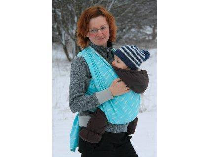 Raindrops Azere - šátek na nošení dětí