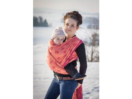 Cran Berry - šátek na nošení dětí