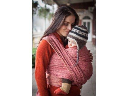 Bird Garden Amber - šátek na nošení dětí