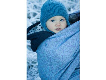 Bird Garden Rime - šátek na nošení dětí