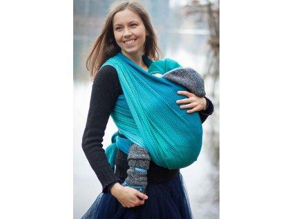 Sea Motion Adriatic - šátek na nošení dětí