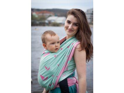 Navis Amphitrite - šátek na nošení dětí