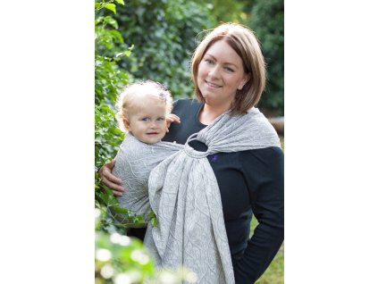 Ring Sling Bird Garden Grey