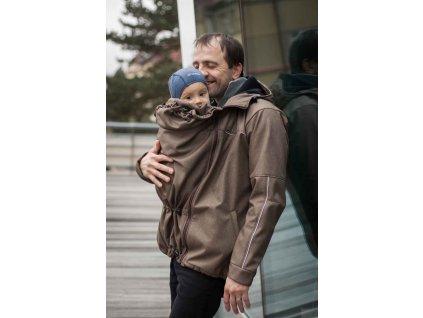 Pánská bunda na nošení dětí