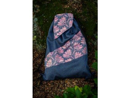 Malý dámský batoh Rhododendrons Phoenix