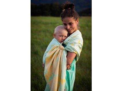 Ring Sling Navis Lima - šátek na nošení dětí