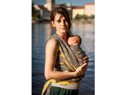 Vltava Solenic - II. jakost - šátek na nošení dětí