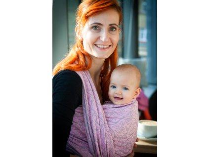 Bird Garden Mia - šátek na nošení dětí
