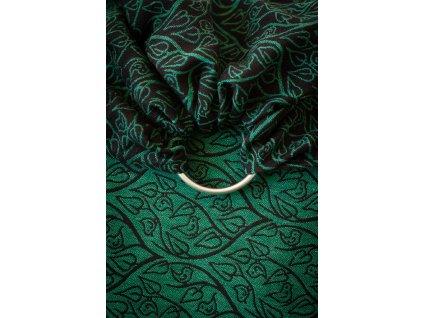 Ring Sling Bird Garden Saga - šátek na nošení dětí