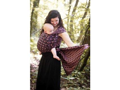 Twist Nancy - šátek na nošení dětí