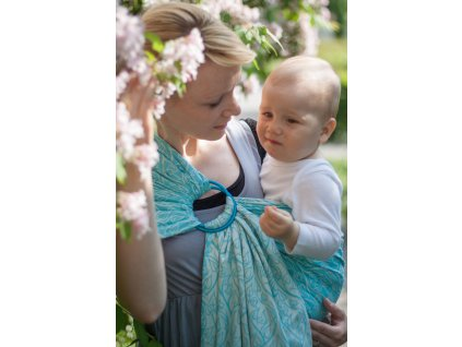 Ring Sling Bird Garden Azure