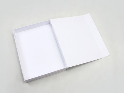 MM Rigid White Shirt Packaging Boxes Open Way