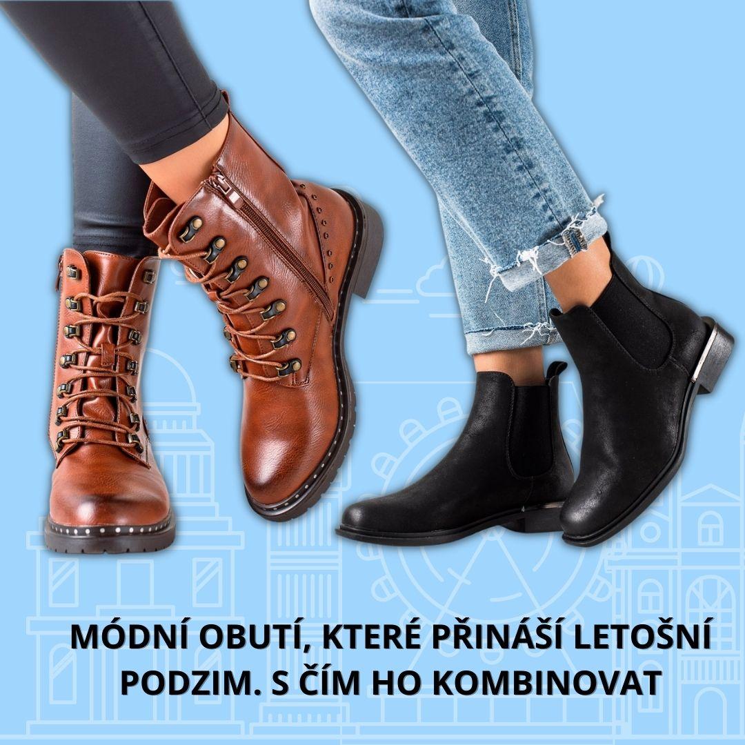 Módní obutí, které přináší letošní podzim. S čím ho kombinovat