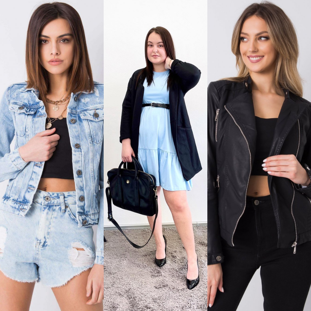 Oživte šaty díky slušivému kabátku či svetru