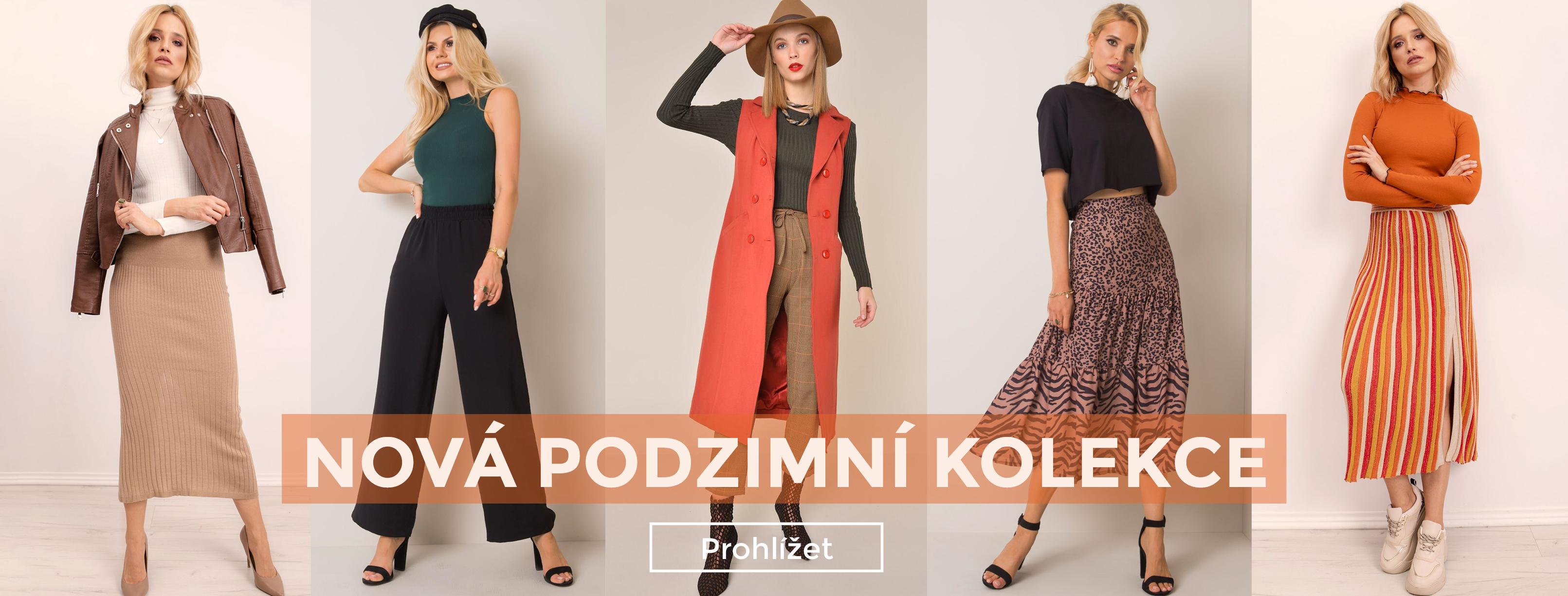 Dámská podzimní móda