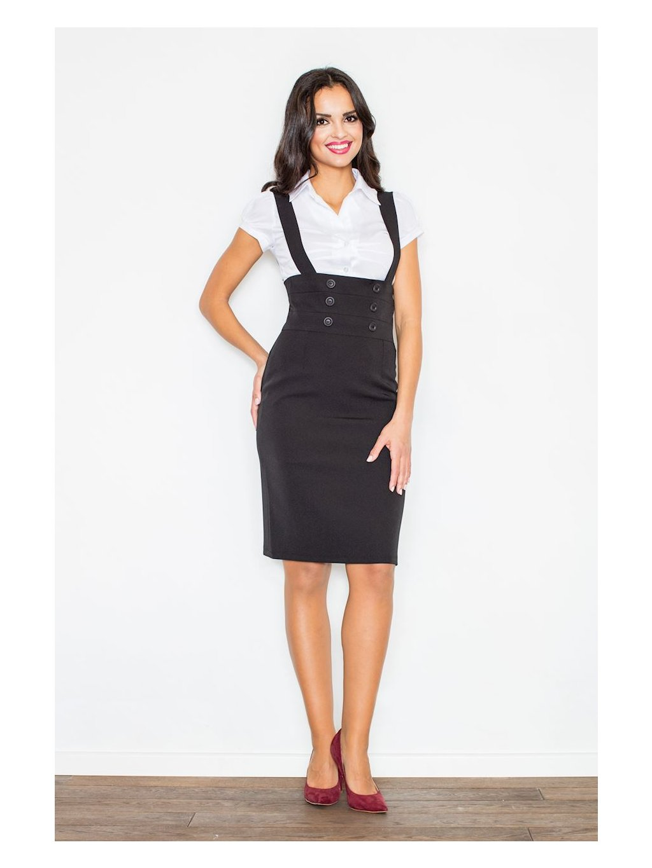 Dámská černá sukně M010